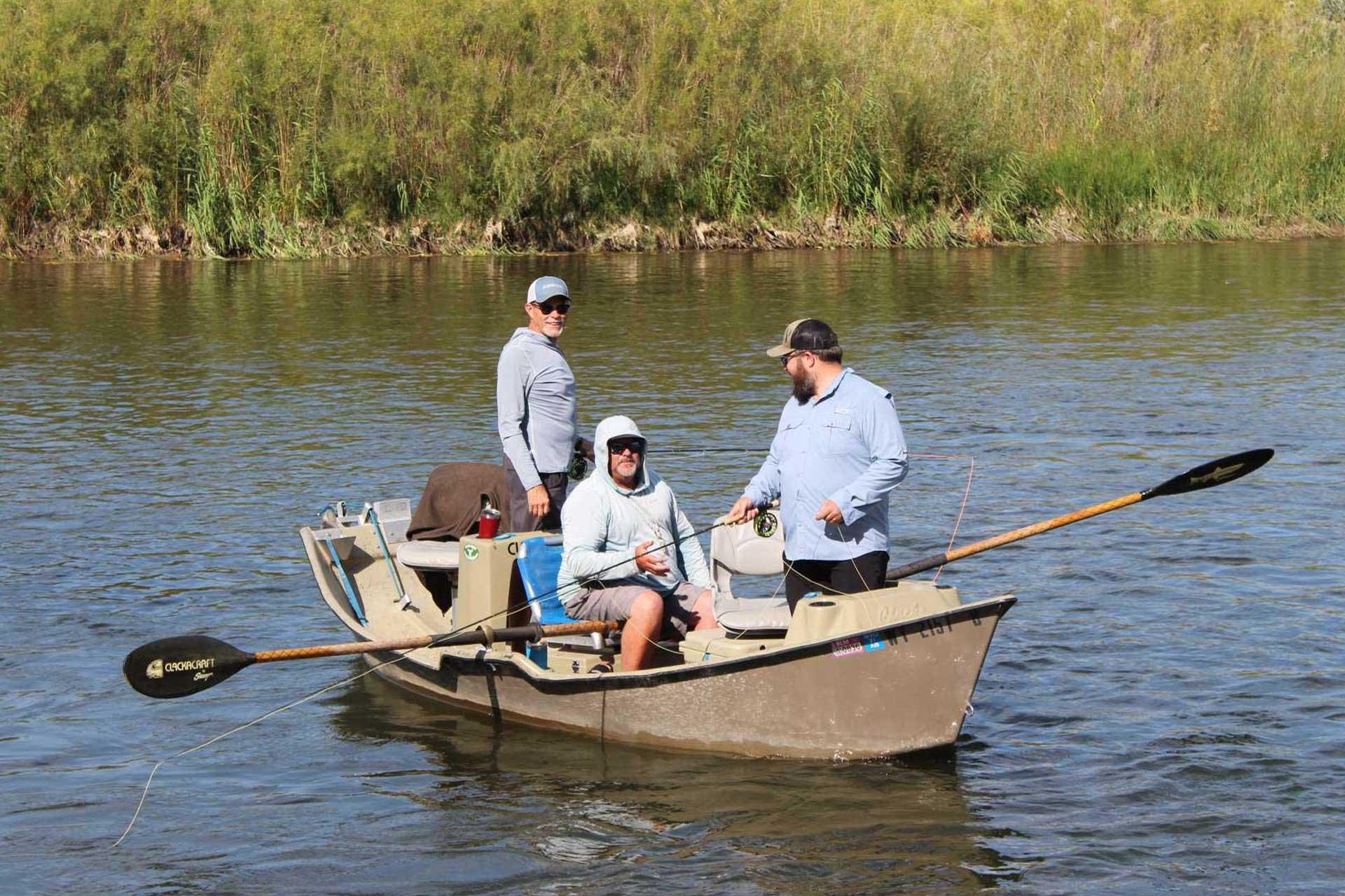 nonprofit fishing event wyoming