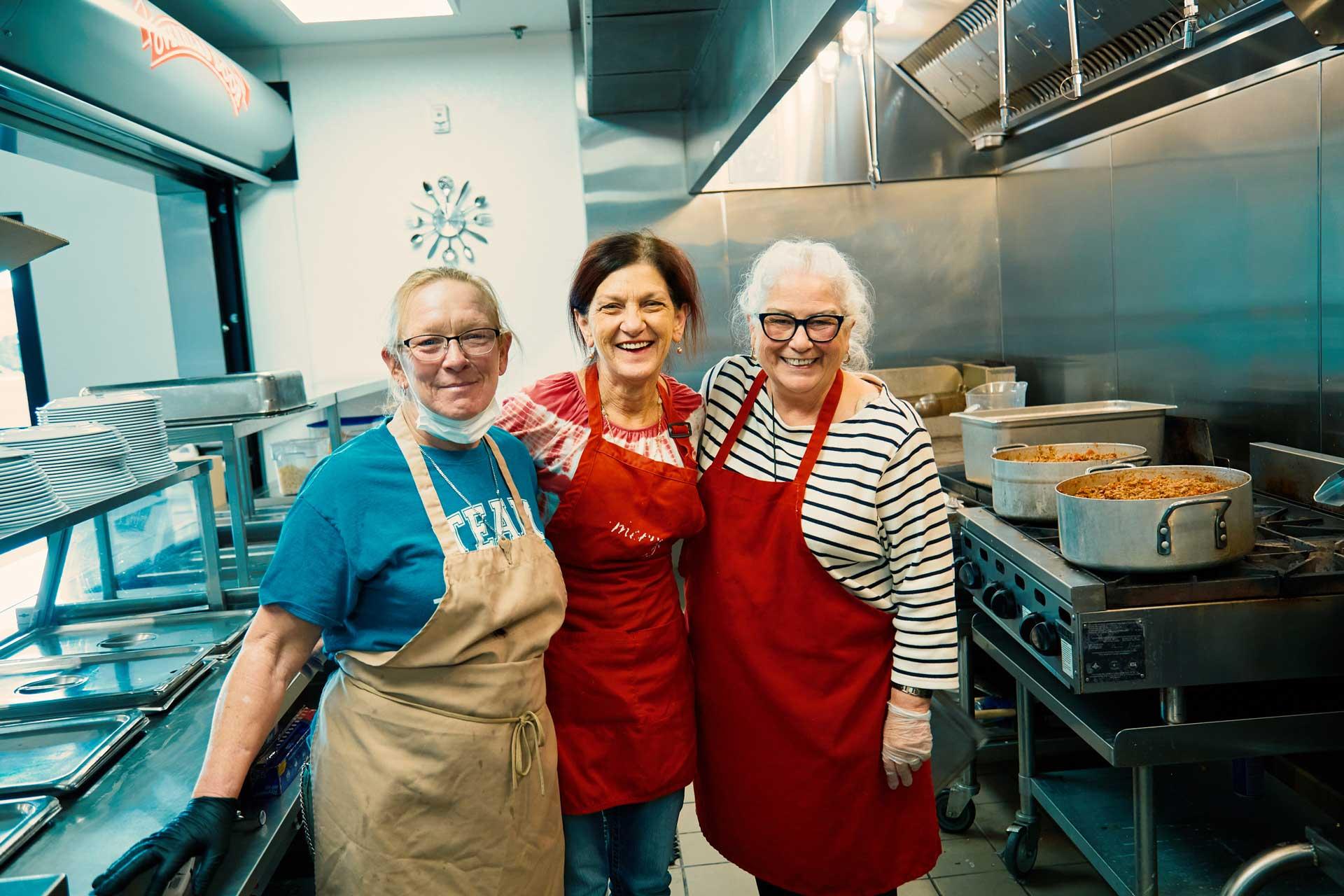 serve food nonprofit