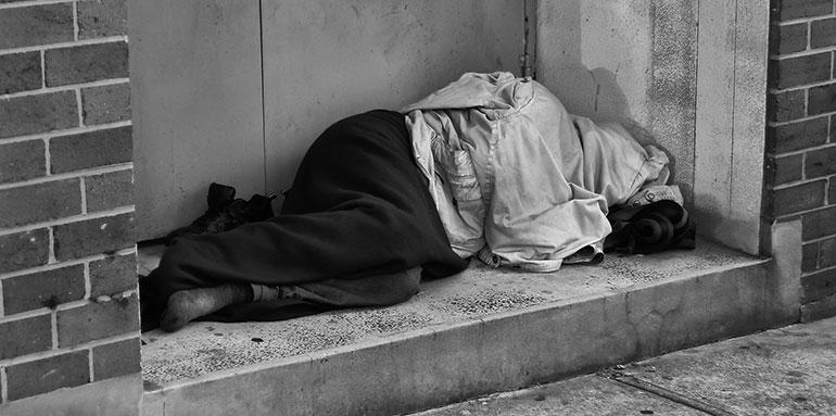 donate to homelessness