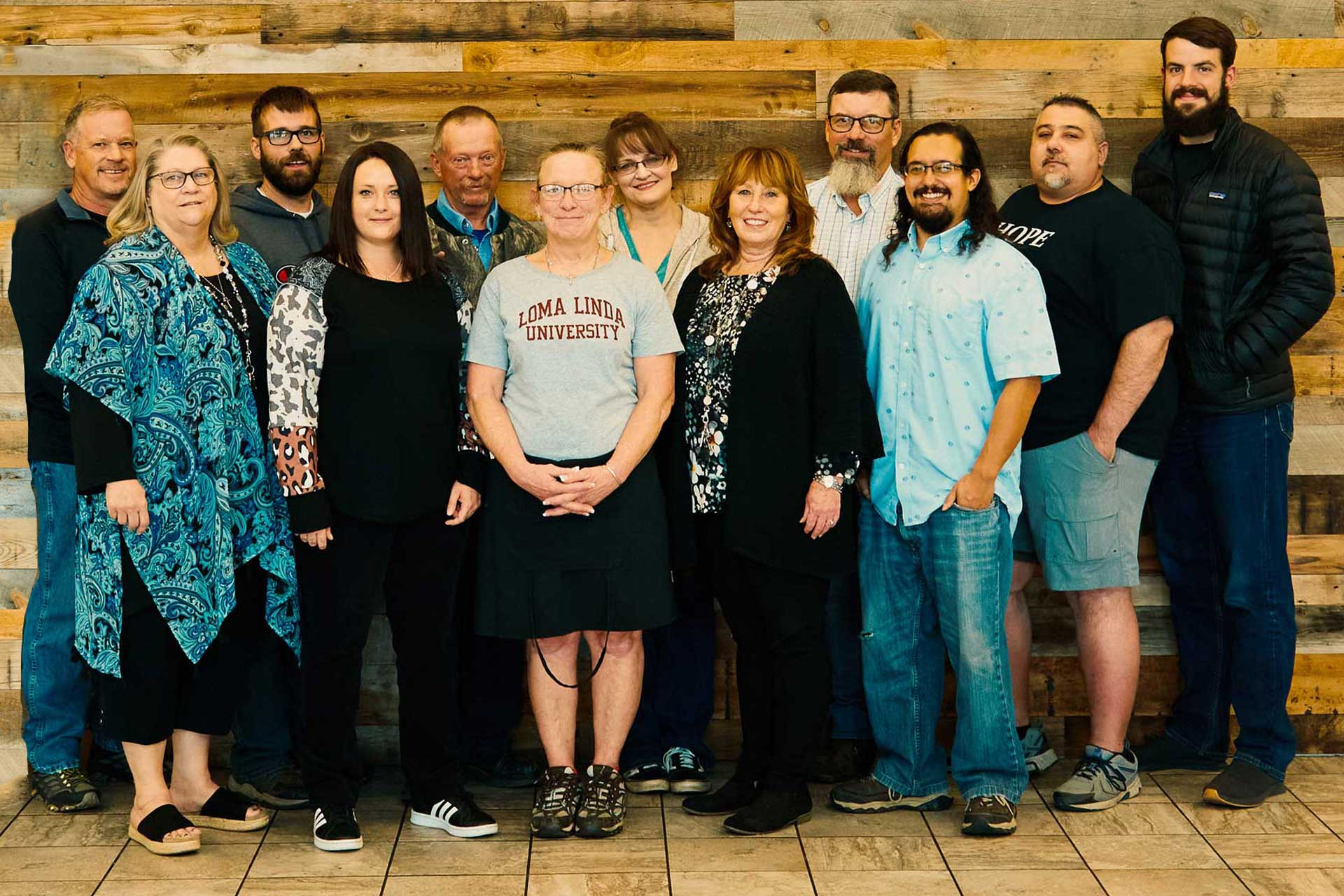 Wyoming Rescue Mission team
