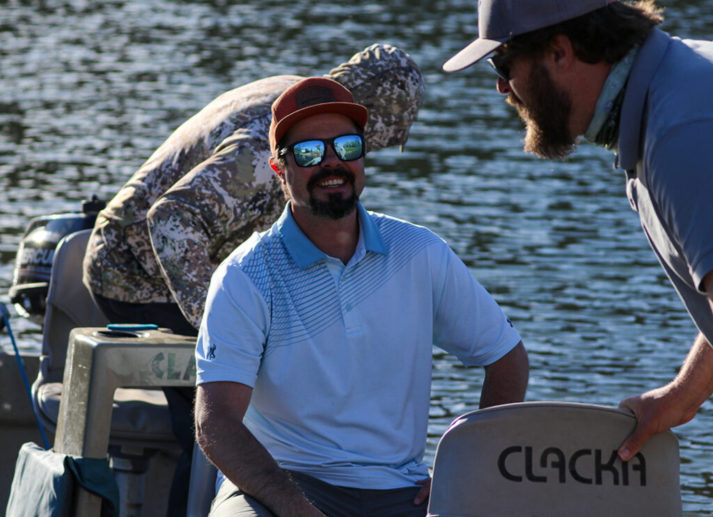 Fishing event benefiting charity