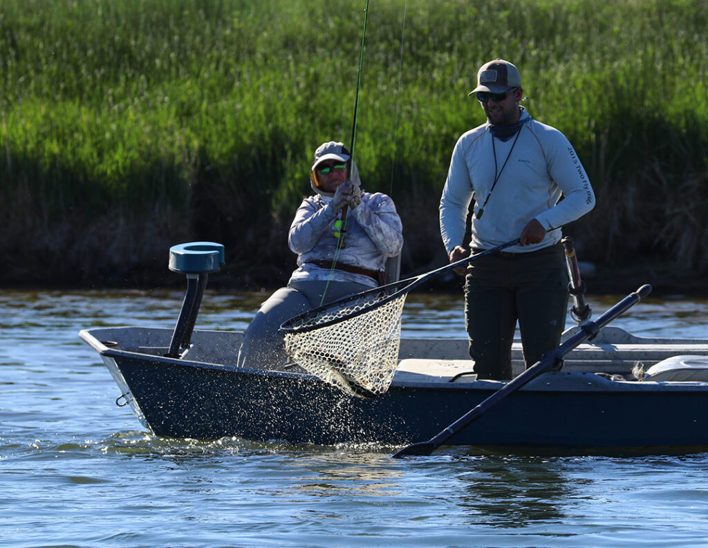 Fly fishing tournament for charity