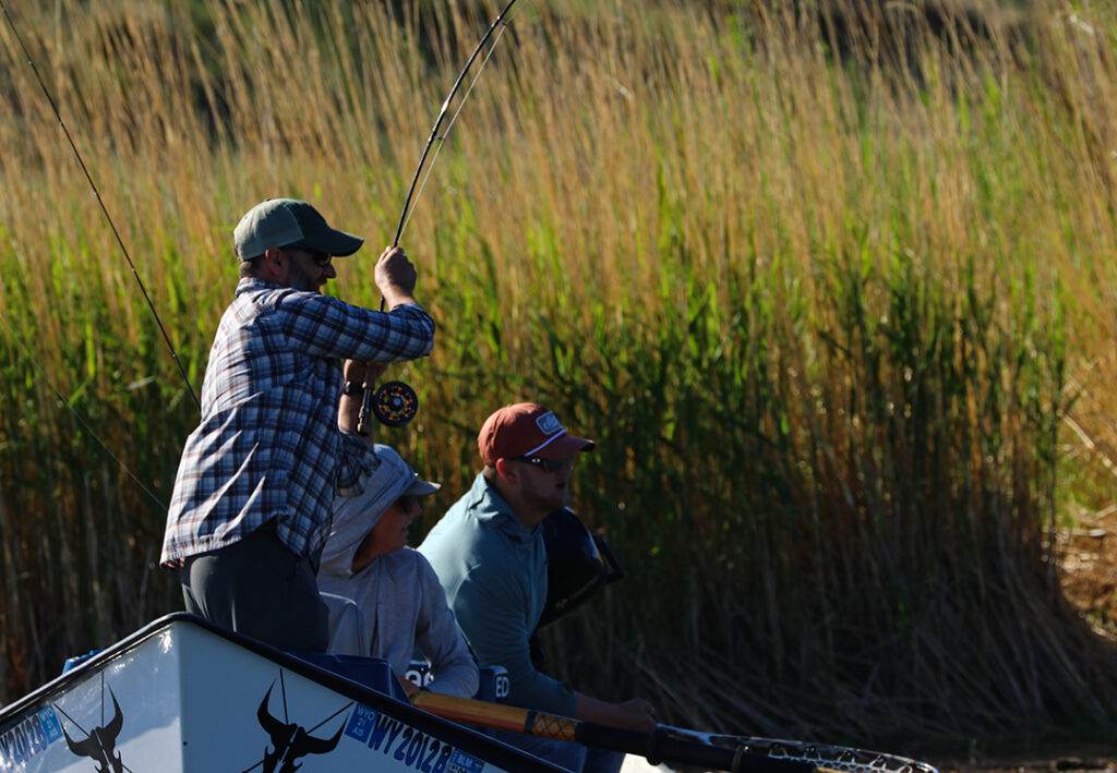Fishin' for the Mission Fly Fishing Tournament